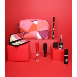 blk holiday cosmetics pouch gift set