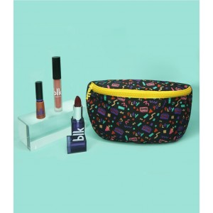 Blk 90s makeup bundle + bumbag Pop Set
