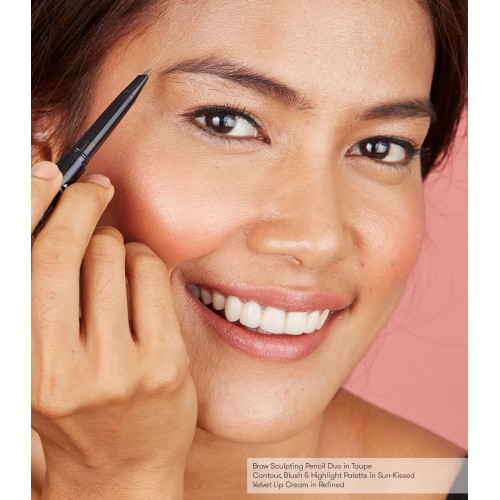 Blk Brow Sculpting Pencil Duo - Taupe