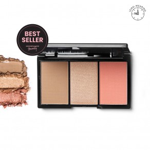 Blk Contour, Blush & Highlight Palette - Sun-Kissed