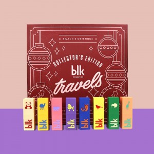 Holiday Blktravels Collector'S Edition All-Day Intense Matte Lipstick Set Of 8