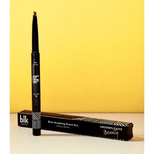 Blk Brow Sculpting Pencil Duo - Natural Brown