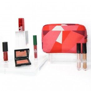 Blk Holiday Cosmetics Pouch Gift Set Candy Cane Cutie