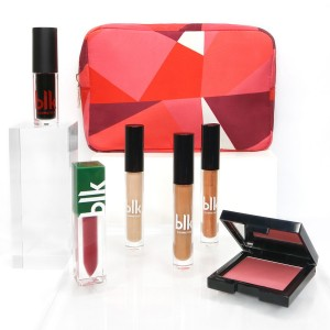 Blk Holiday Cosmetics Pouch Gift Set Sugarplum Pretty