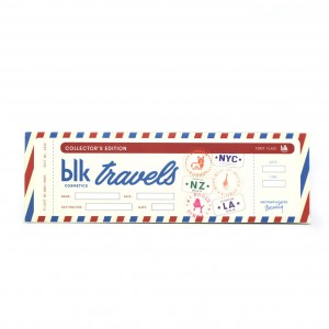 blk cosmetics blktravels Collector's Edition All-Day Intense Matte Lipstick Set of 6 Mail Box