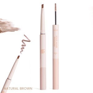 Blk Cosmetics Brow Stick : Pencil + Mascara - Natural Brown