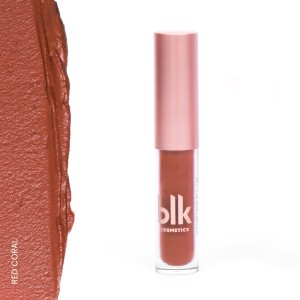 Blk Cosmetics Holiday Mini Soft Matte Mousse Red Coral