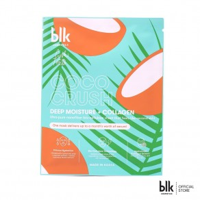 Blk Cosmetics Deep Moisture + Collagen Face Mask - Coco Crush