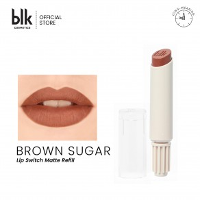 Blk Cosmetics Universal Lip Switch Refill Matte Lippie Brown Sugar - Brown Sugar
