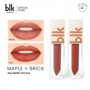 Blk Cosmetics Universal Matte Tint Duos Brick - Maple - Brick - Maple