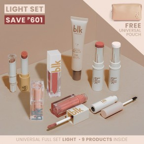 Blk Cosmetics Universal Full Set Light With Pouch - Light
