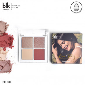 blk cosmetics Bridal Eyeshadow Palette - Blush