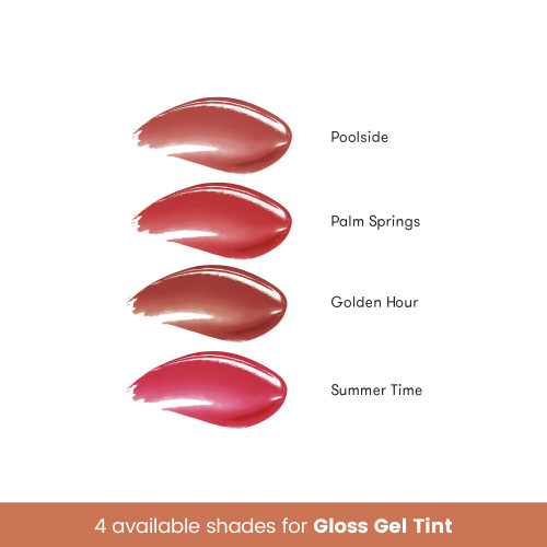 Blk Cosmetics Fresh Sunkissed Gloss Gel Tint Summer Time