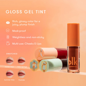 Blk Cosmetics Fresh Sunkissed Gloss Gel Tint Poolside