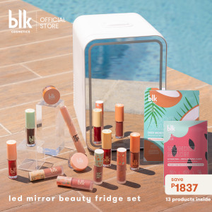 Blk Cosmetics Fresh Sunkissed Travel-Ready Beauty Fridge Set