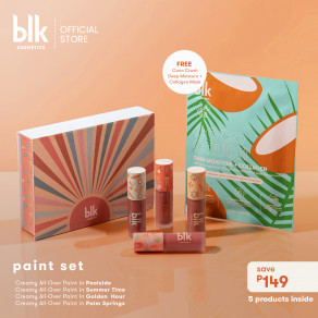 Blk Cosmetics Fresh Sunkissed Paint Set