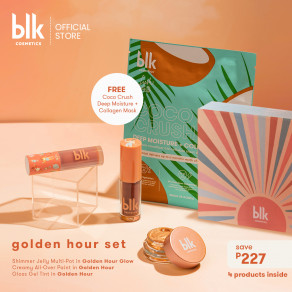 Blk Cosmetics Fresh Sunkissed Golden Hour Set