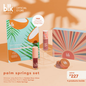 Blk Cosmetics Fresh Sunkissed Palm Springs Set