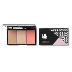 contour, blush & highlight palette